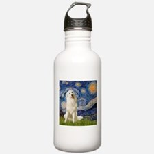 Starry Night / Pyrenees Water Bottle