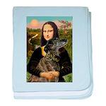 Mona / Greyhound(br) baby blanket
