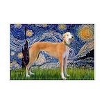 Starry / Greyhound (f) Mini Poster Print