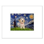 Starry / Havanese Small Poster