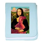 Mona /Irish Setter baby blanket
