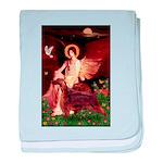 Angel / Irish Setter baby blanket