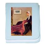 Whistler's / Irish S baby blanket