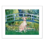 Bridge / Ital Greyhound Small Poster