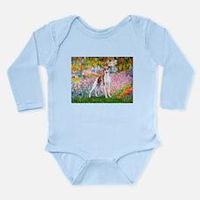Garden / Ital Greyhound Long Sleeve Infant Bodysui