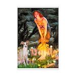 Midsummer's / Ital Greyhound Mini Poster Print