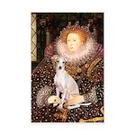 Queen / Italian Greyhound Mini Poster Print
