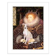 Queen / Italian Greyhound Posters