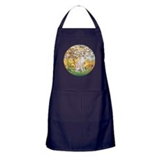 Spring / Italian Greyhound Apron (dark)