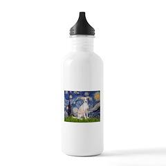 Starry Night / Ital Greyhound Water Bottle