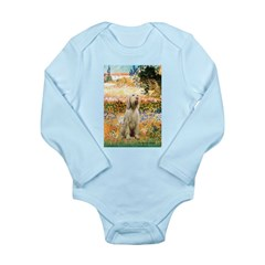 Garden Fiorito/ Spinone Long Sleeve Infant Bodysui