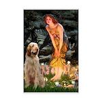 Fairies/ Italian Spinone Mini Poster Print