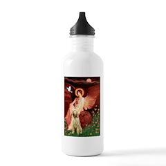 Seated Angel /Italian Spinone Water Bottle