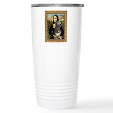 Mona / Irish Wolf Travel Mug