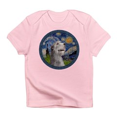 Starry Irish Wolfhound Infant T-Shirt