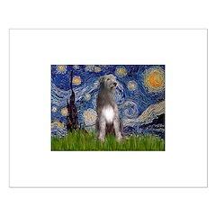 Starry/Irish Wolfhound Posters