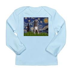 Starry/Irish Wolfhound Long Sleeve Infant T-Shirt