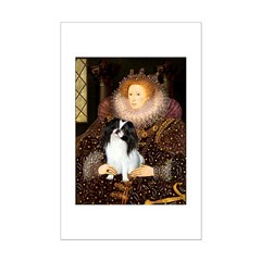 Queen/Japanese Chin Posters