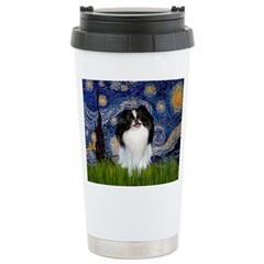 Starry/Japanese Chin Travel Mug