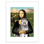 Mona's Keeshond (E) Small Poster