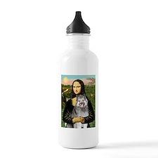 Mona's Keeshond (E) Water Bottle