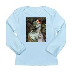 Opohelia's Keeshond (E) Long Sleeve Infant T-Shirt