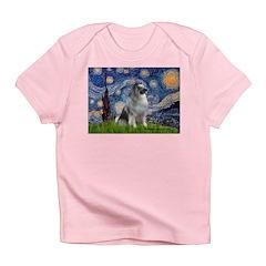 Starry / Keeshond Infant T-Shirt