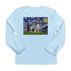 Starry / Keeshond Long Sleeve Infant T-Shirt