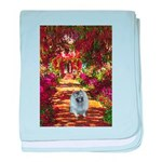 The Path - Keeshond (F) baby blanket