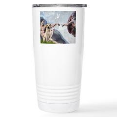 Creation/Labrador (Y) Stainless Steel Travel Mug
