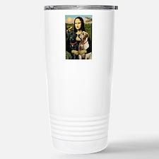 Mona / Labrador Stainless Steel Travel Mug