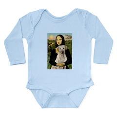 Mona Lisa / Lab (y) Long Sleeve Infant Bodysuit