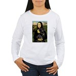 Mona's Black Lab Women's Long Sleeve T-Shirt