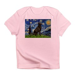 Starry Chocolate Lab Infant T-Shirt