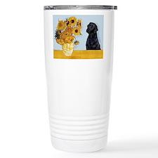 Sunflowers / Lab Travel Mug