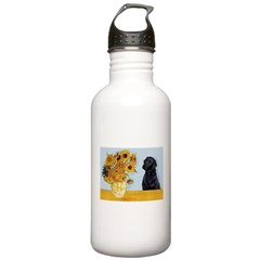 Sunflowers / Lab Water Bottle