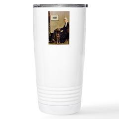 Mom's Chocolate Lab Travel Mug
