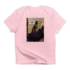 Mom's Chocolate Lab Infant T-Shirt