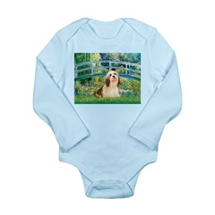 Bridge / Lhasa Apso #4 Long Sleeve Infant Bodysuit