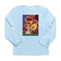 Mandolin / Lhasa Apso #4 Long Sleeve Infant T-Shir