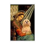 Madonna / Lhasa Apso #9 Mini Poster Print