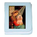 Madonna / Lhasa Apso #9 baby blanket