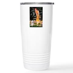 Fairies / Lhasa Apso Travel Mug