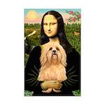 Mona / Lhasa Apso #9 Mini Poster Print