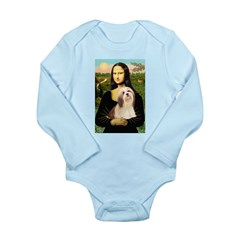 Mona / Lhasa Apso #4 Long Sleeve Infant Bodysuit