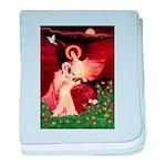 Angel / Lhasa Apso #4 baby blanket