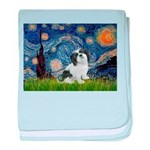 Starry / Lhasa Apso #2 baby blanket