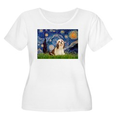 Starry / Lhasa Apso #4 T-Shirt