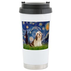 Starry / Lhasa Apso #4 Travel Mug