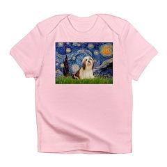 Starry / Lhasa Apso #4 Infant T-Shirt